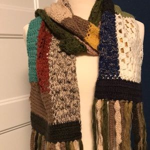 Lucky Brand Patchwork Scarf